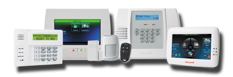 Security products from Honeywell